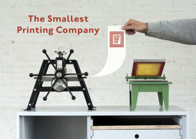 Smallest Printing Company Letterproeftuin